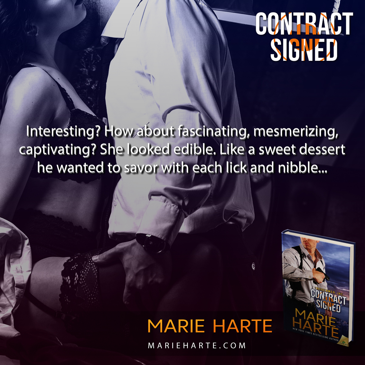 Contract Signed by Marie Harte
