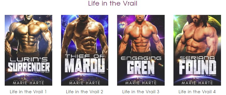 Life in the Vrail Series by Marie Harte