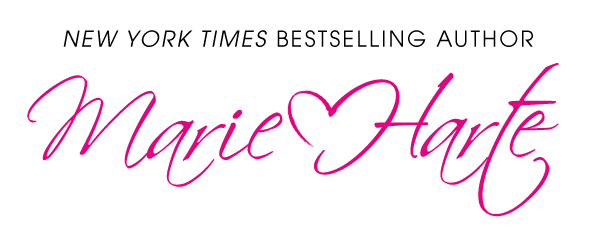 logo banner for Marie Harte New York Times Bestselling Author